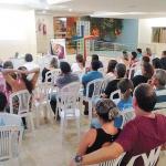 Dia 04/05: Pastoral Familiar recebeu as Irmãs de Belém para falar sobre Espiritualidade Pastoral e Cristã.