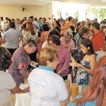 Dia 10/05: Dia das Mães, a Pastoral de Eventos organizou um belo café da manhã para as mães presente.