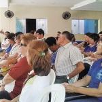 Dia 16/05: Paróquia acolheu os catequistas do  2º Zonal numa manhã de formação com Pe. Paulo.