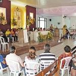 Dia 17/05: Ministério da Eucaristia vivenciou mais uma Lectio Divina, com Frei Rogério.